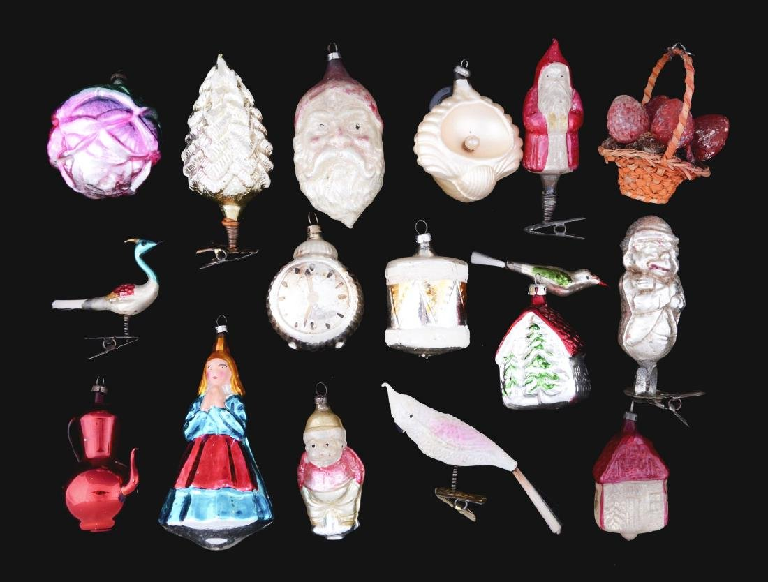 Lot of Christmas Ornaments.