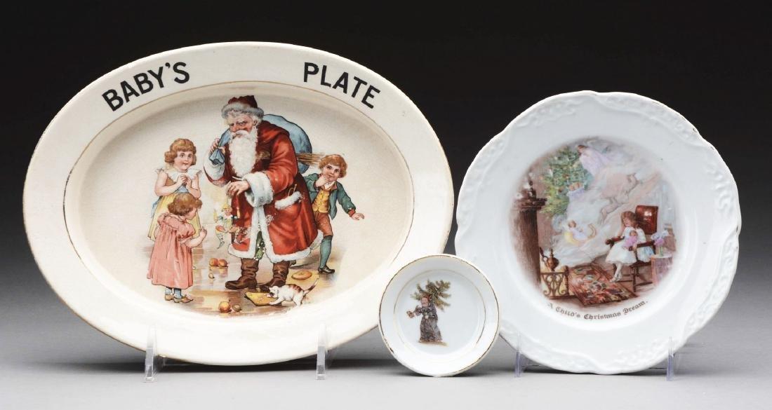 Lot Of 3: China Children's Plates.