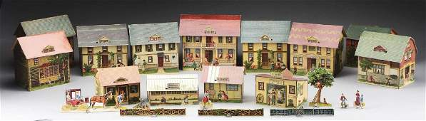 The Pretty Village Paper Toy