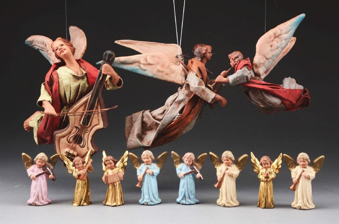 Lot Of 11: Christmas Angels.
