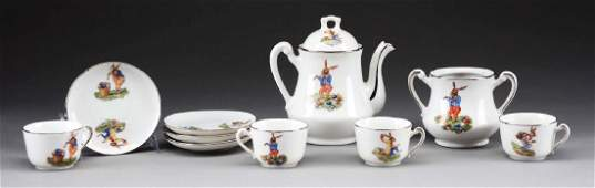 Childs China Easter Tea Set