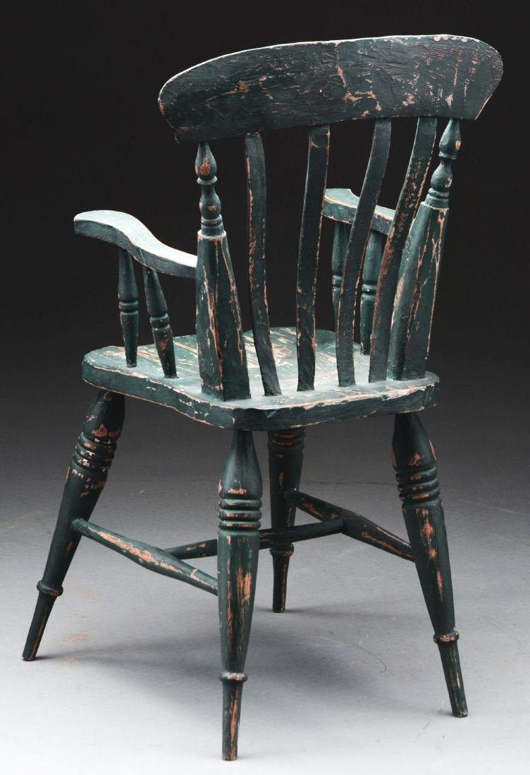 Large Scale Green Doll Chair. - 3