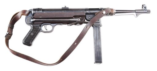 (N) Fine German WWII MP40 Machine Gun (CURIO & RELIC)