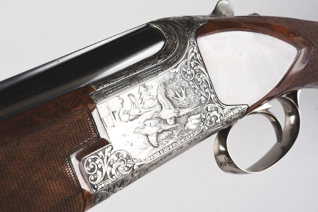 """(M) Browning """"Exhibition"""" Superposed Over Under Shotgun - 10"""