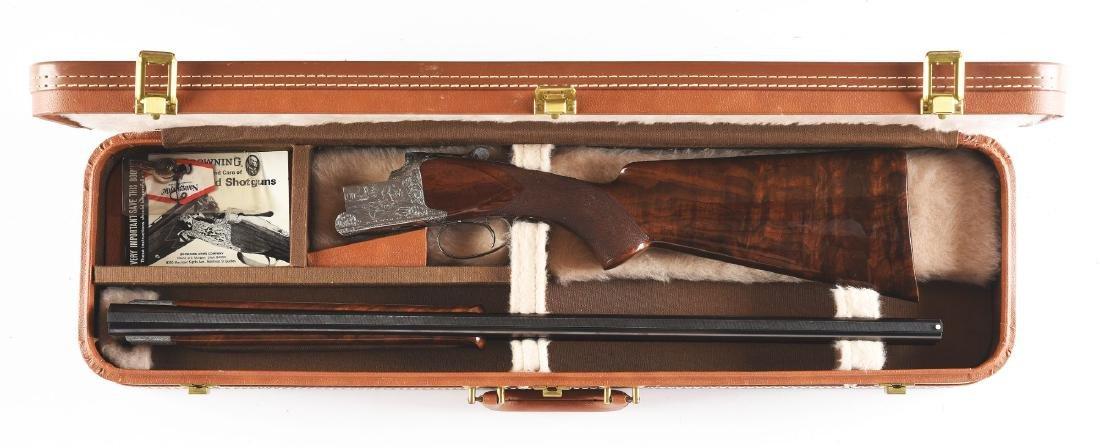 """(M) Browning """"Exhibition"""" Superposed Over Under Shotgun - 3"""