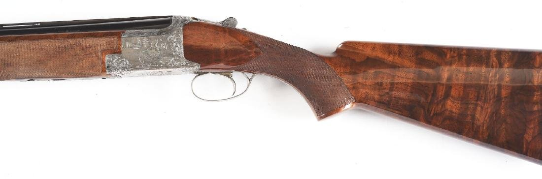 """(M) Browning """"Exhibition"""" Superposed Over Under Shotgun - 9"""