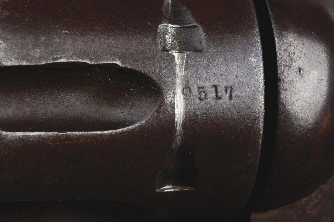 (A) US Colt Cavalry Single Action Army Revolver with - 9