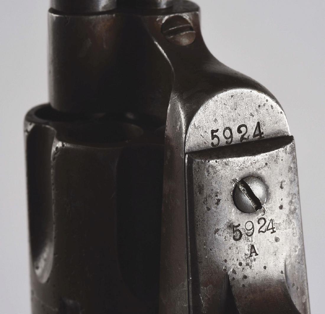 (A) Custer Era Colt Single Action Army Cavalry Revolver - 8