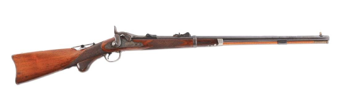 (A)  RARE MODEL 1875 SPRINGFIELD 3RD TYPE OFFICER'S