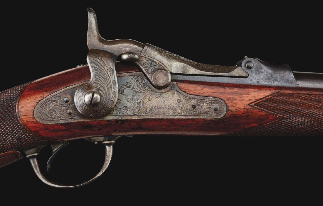 (A)  RARE MODEL 1875 SPRINGFIELD 3RD TYPE OFFICER'S - 3
