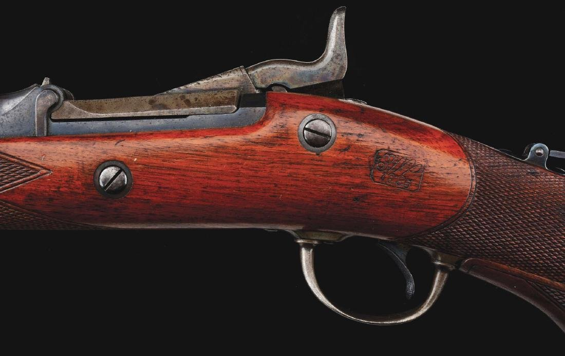 (A)  RARE MODEL 1875 SPRINGFIELD 3RD TYPE OFFICER'S - 6