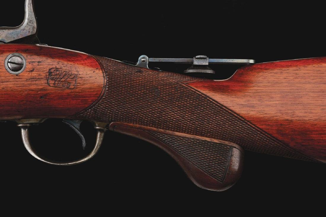 (A)  RARE MODEL 1875 SPRINGFIELD 3RD TYPE OFFICER'S - 7