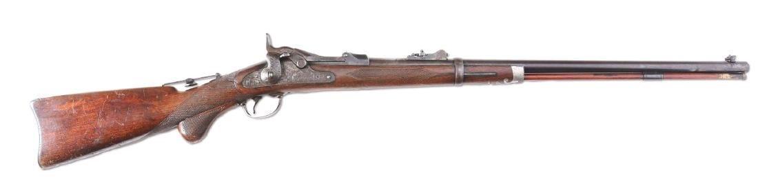 (A) Springfield 1875 Trapdoor Officers Model Single