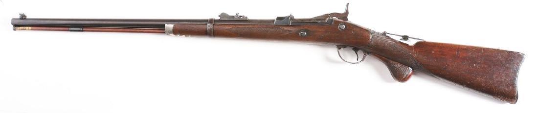 (A) Springfield 1875 Trapdoor Officers Model Single - 2