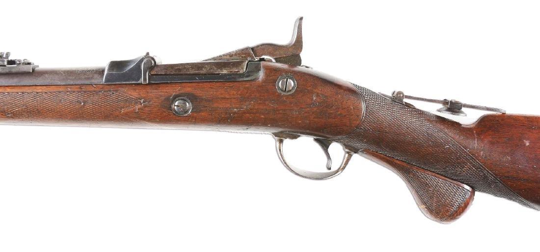 (A) Springfield 1875 Trapdoor Officers Model Single - 3