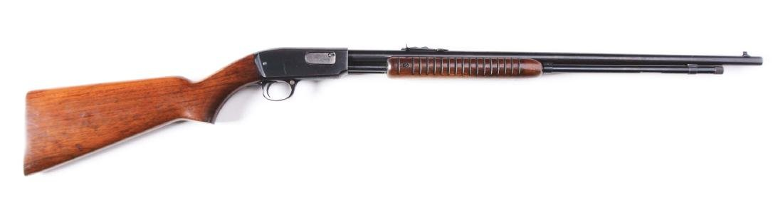(C) Winchester Model 61 Slide Action Rifle (1949).