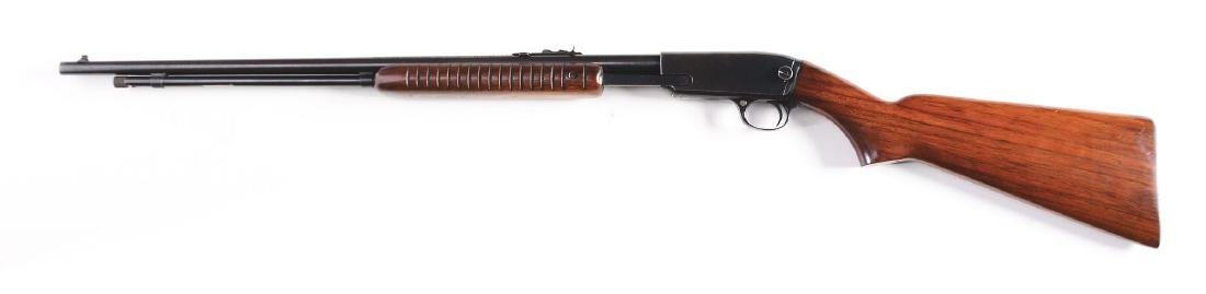 (C) Winchester Model 61 Slide Action Rifle (1949). - 2