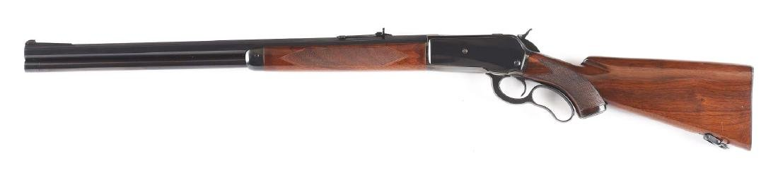 (C) Custom Winchester Model 71 Lever Action Rifle - 2