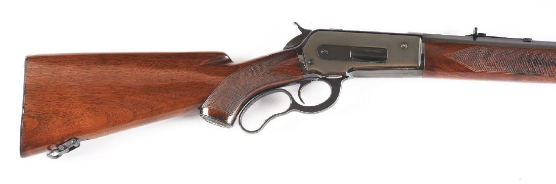 (C) Custom Winchester Model 71 Lever Action Rifle - 3
