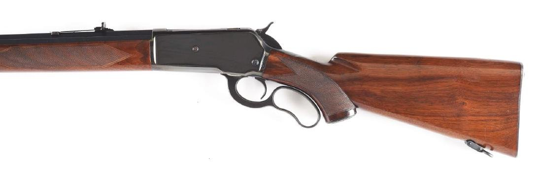 (C) Custom Winchester Model 71 Lever Action Rifle - 8
