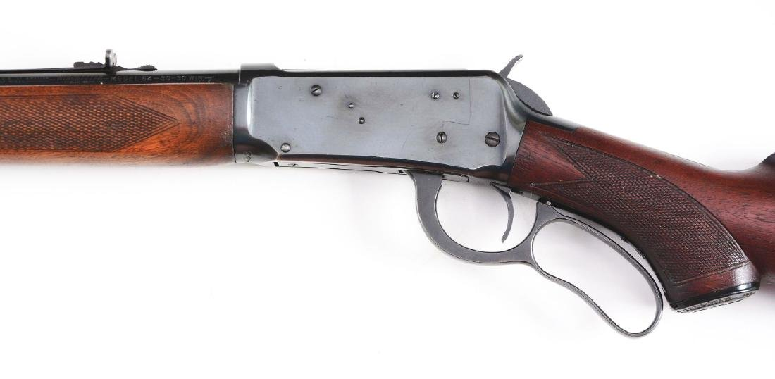 (C) Winchester Deluxe Model 64 Lever Action Rifle - 3