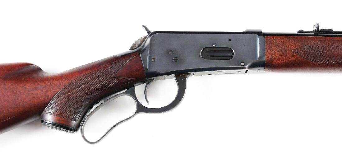 (C) Winchester Deluxe Model 64 Lever Action Rifle - 5