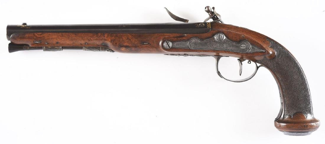 (A) French Flintlock Pistol by Cheret. - 2