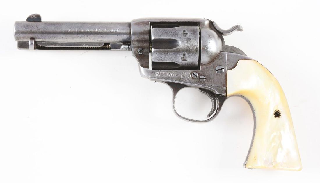 (C) Colt Bisley Single Action Army Revolver (1907). - 2