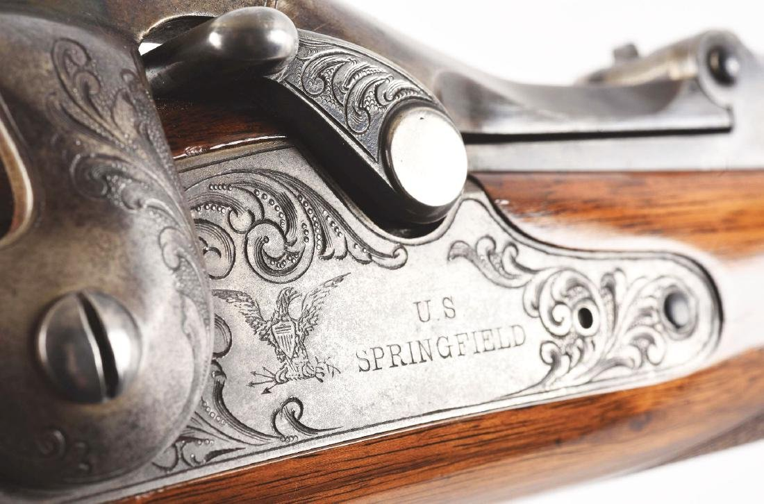 (A)   RARE SPRINGFIELD MODEL 1875 TYPE II OFFICER'S - 10