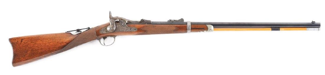 (A)   RARE SPRINGFIELD MODEL 1875 TYPE II OFFICER'S
