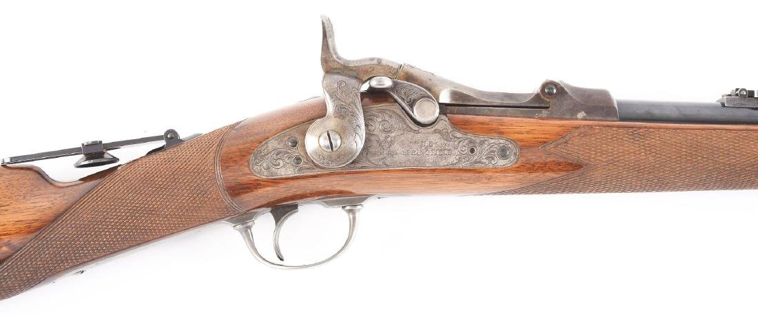 (A)   RARE SPRINGFIELD MODEL 1875 TYPE II OFFICER'S - 2