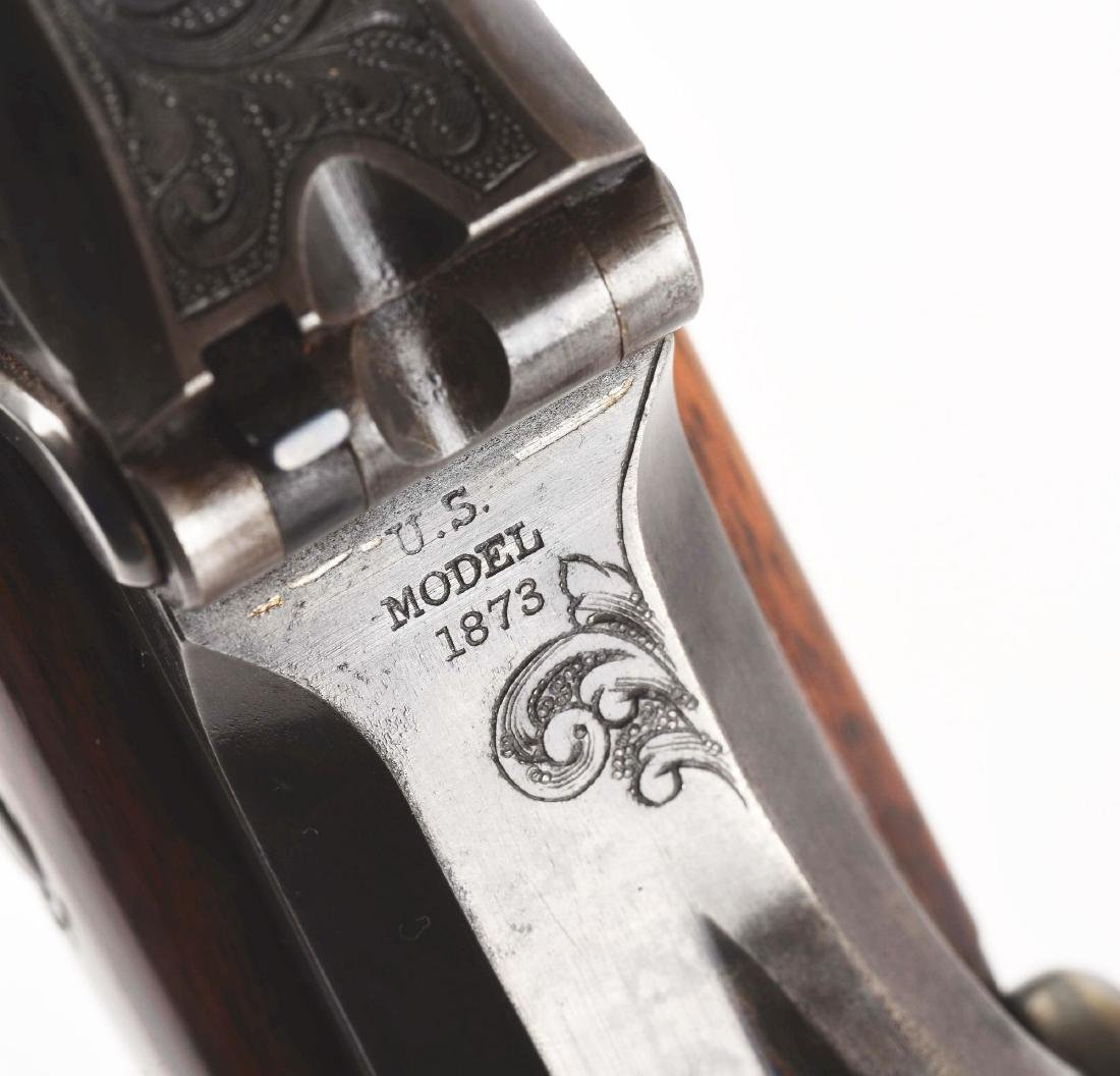 (A)   RARE SPRINGFIELD MODEL 1875 TYPE II OFFICER'S - 9