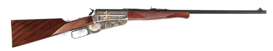 M MIB Winchester High Grade Model 1895 Lever Action