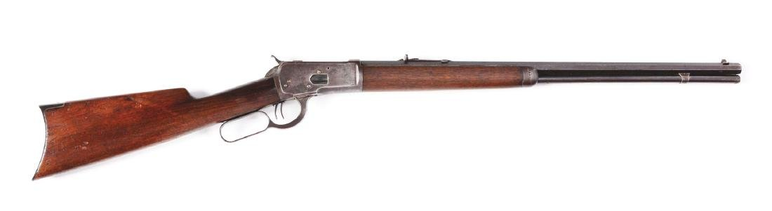 (C) Winchester Model 1892 Lever Action Rifle (1912).