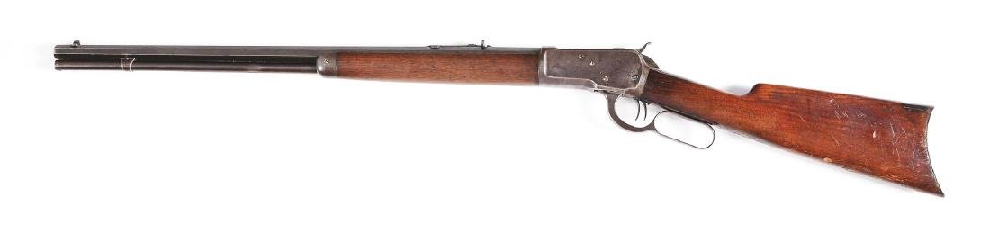 (C) Winchester Model 1892 Lever Action Rifle (1912). - 2