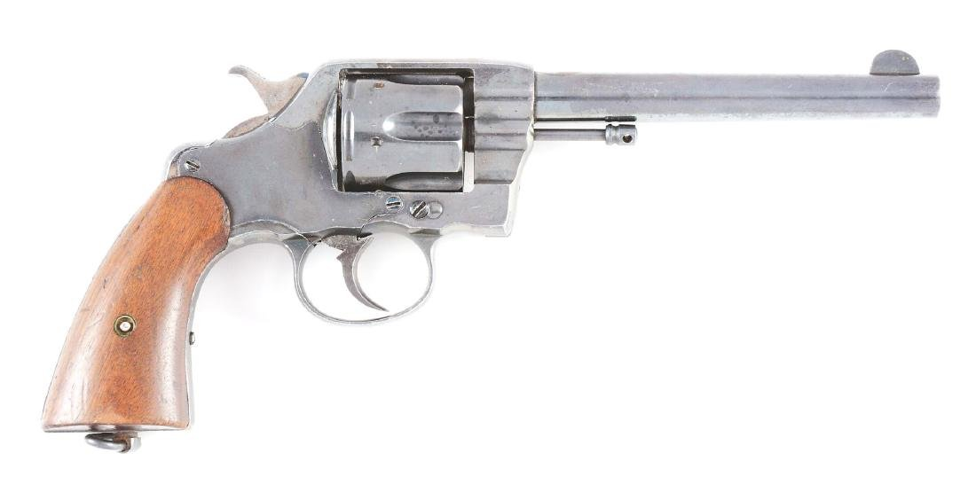 (A) Colt New Army Model 1894 Double Action Revolver.