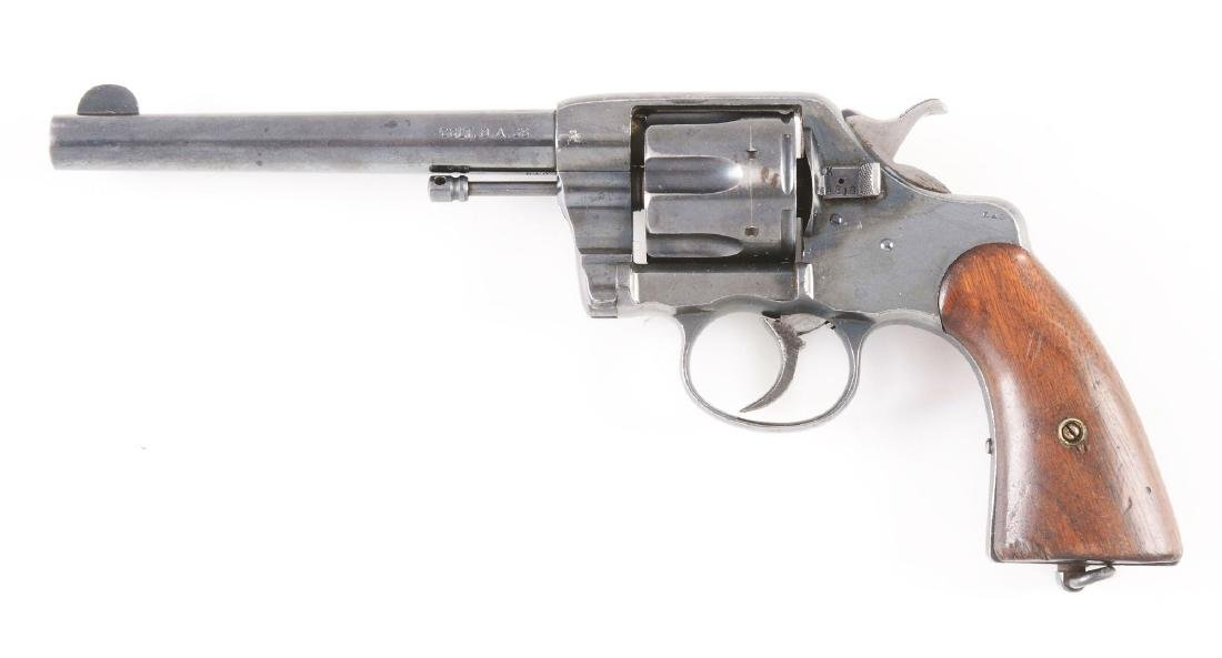 (A) Colt New Army Model 1894 Double Action Revolver. - 2