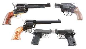 M Lot of 5 Assorted SemiAutomatic Handguns and