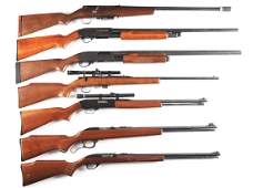 M Lot of 7 Assorted Shotguns and Rifles