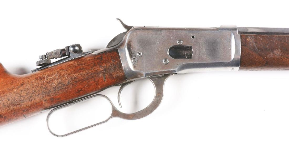 (C) Winchester Model 1892 Lever Action Rifle (1912). - 5