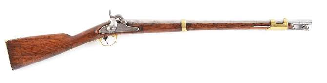 (A) US Springfield Model 1847 Cavalry Musketoon Dated