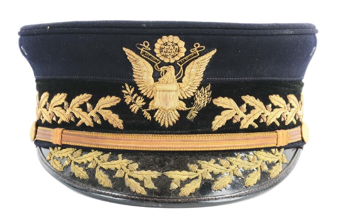 Boxed U.S. Army Model 1902 General's Full Dress Visor