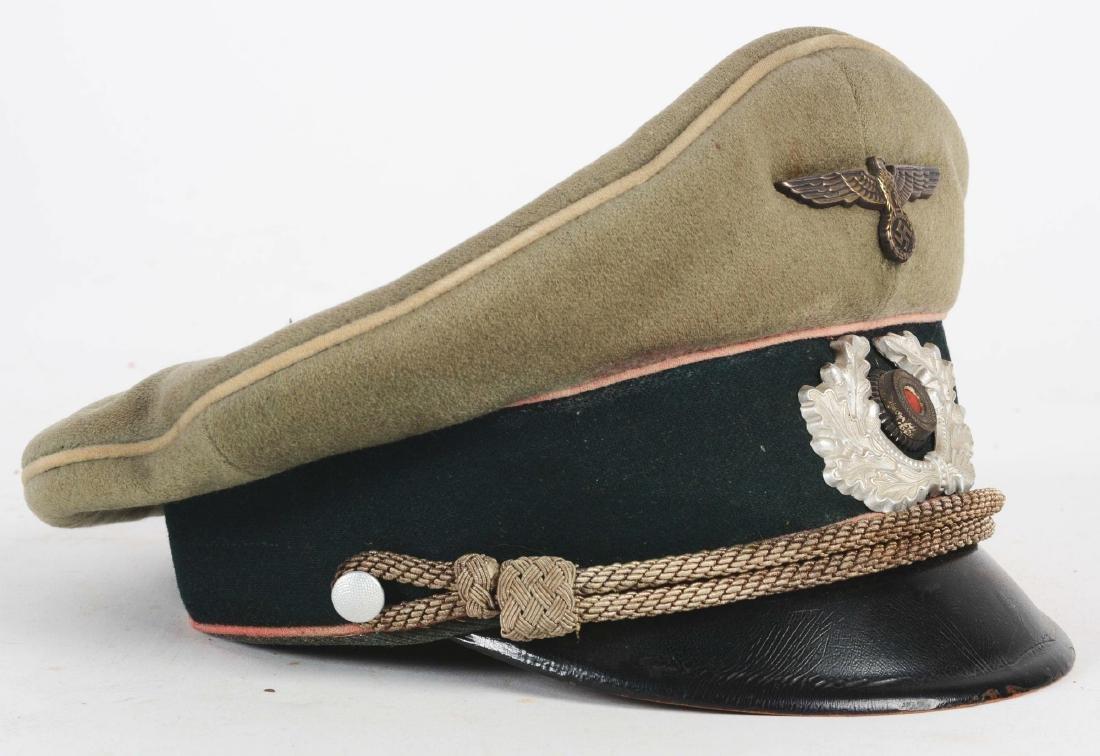 German WWII Heer Infantry Officer Visor. - 2