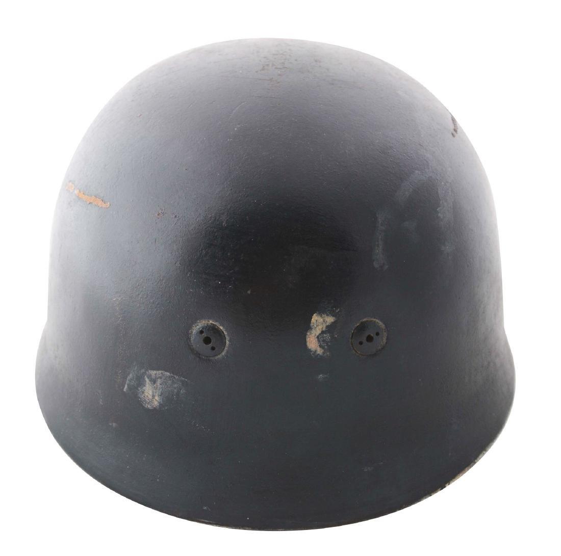 German WWII Repainted M38 Paratrooper Helmet Shell.