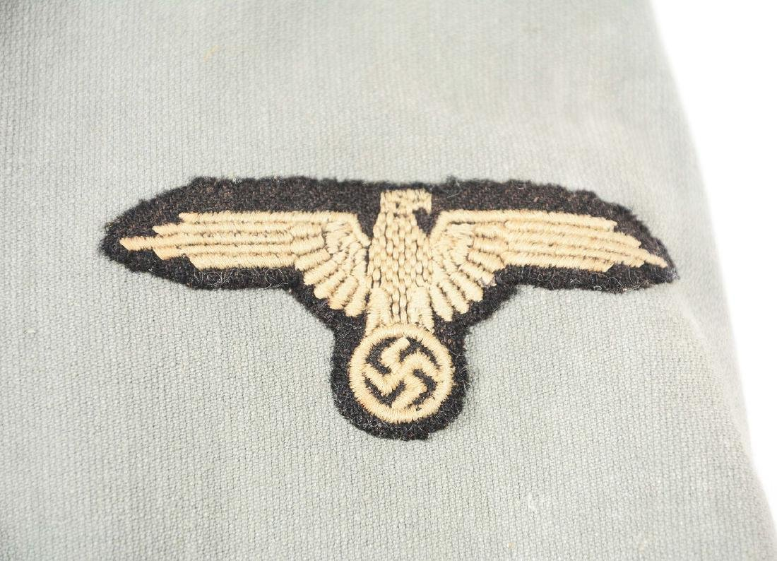 German WWII Waffen SS VT/TV Summer Weight Drill Tunic. - 4