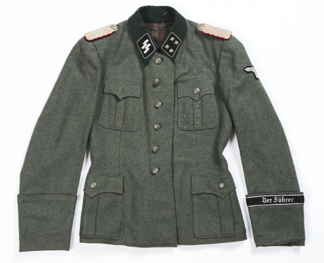"German WWII ""Deutschland"" SS Officer's Tunic. - 2"