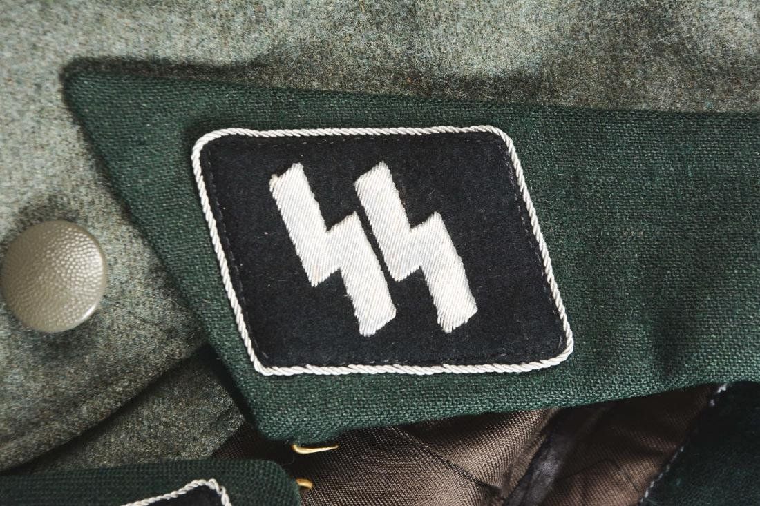 "German WWII ""Deutschland"" SS Officer's Tunic. - 9"