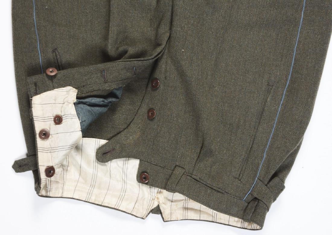 Lot of 4: German WWII Heer Officers Dress Tunic, Visor - 3