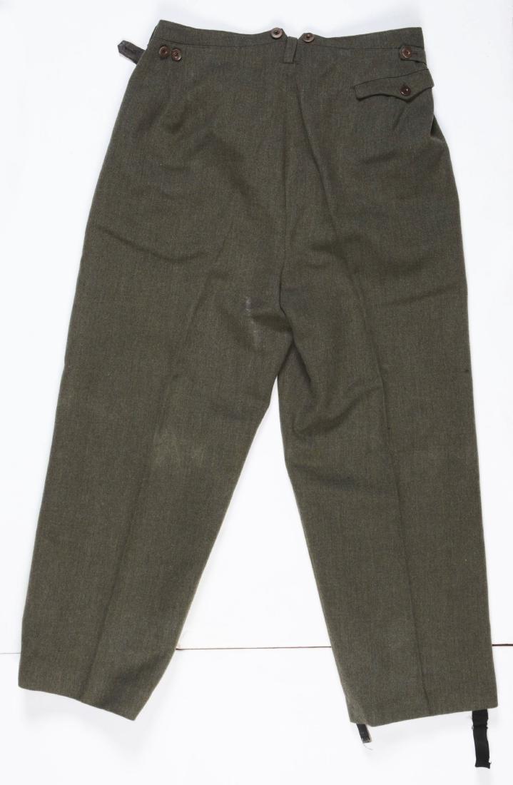 Lot of 4: German WWII Heer Officers Dress Tunic, Visor - 5