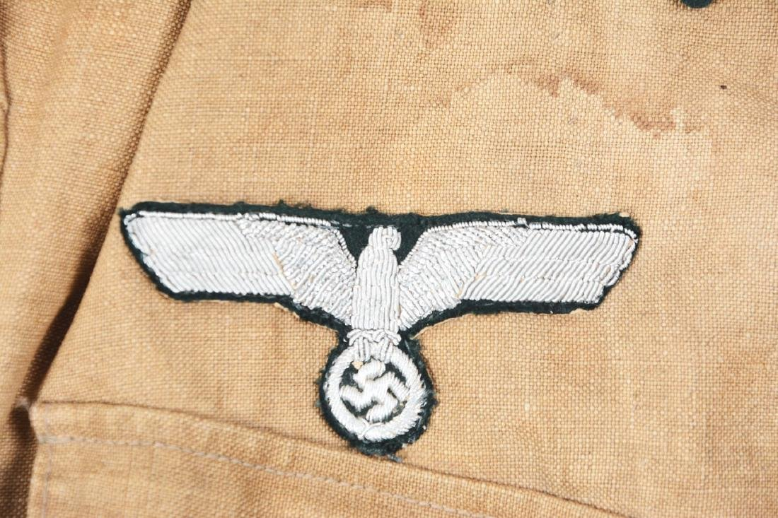 German WWII Afrikakorps Heer Pionier Officer Tunic. - 4